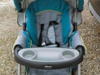 For sale Chicco keyfit 30 stroller. Only 7 months old.