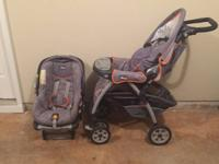 Chicco Keyfit Travel System (infant seat & stroller)