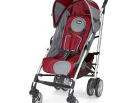 Stylish and bold compact ultra light aluminum stroller.