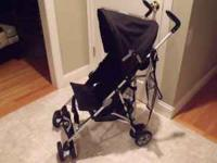 Chicco Capri Stroller- Black Great all around travel