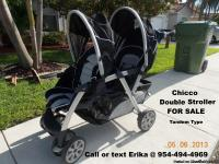 Chicco Cortina Double Tandem Stroller For SALE -