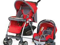 I am selling my Chicco Key Fit 30 Travel System (RED).