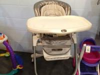 Chicco Polly high chair in exceptional disorder! Chair