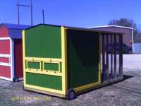 Custom built chicken coops available for your backyard