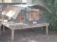 Used chicken coop 5X6... $100 Also have some 1 year old