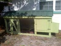NO BACKYARD IS COMPLETE WITHOUT A CHICKEN COOP MANSION
