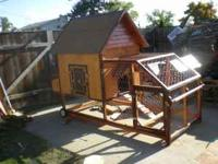 chicken coop tractor $650  Location: spokane