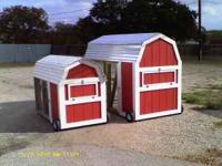 We have a large inventory of chicken coops ready for