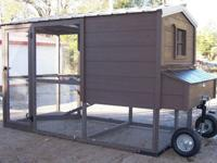 We build custom made chicken coops and other buildings