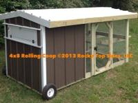 We manufacture high quality chicken coops in Tahlequah,