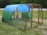 Chicken Hoop Houses 100.00 each Please call  or email