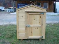 FOR SALE NEW SOLID PINE CHICKEN HOUSE WITH PLYWOOD