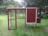 Chicken or Pigion COOP Hello i have a Nice red coop