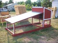 Simple chicken pen that holds 9 bantam chickens are 6