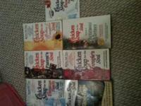 "Small lot of 6 ""Chicken Soup for the Soul"" books. All"