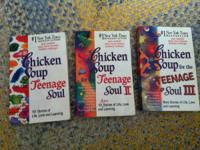 Lastly parting with chicken soup for the teenage soul,