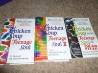 I have for sale a three book set: Chicken Soup for the