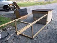 AFFORDABLE Small Chicken Tractor portable with wheels