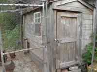 "Chicken coop 8' 4"" x 4' 3""(coop is 2 years old) with 10"