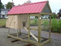 Custom Built Chicken Coops built similar to the
