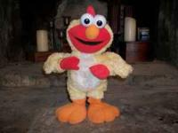 I have a chicken dance elmo for sale. He sings and