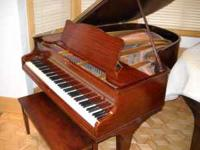 Made during the golden era of American piano makers