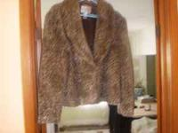 Chico's Leopard Jacket Size 3 (12 -14) Call Pat . Will