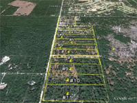 110 acres subdivided into 11-ten acre lot subdivision