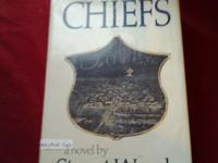 Signed Hardback First Edition CHIEFS by Stuart Woods.
