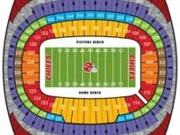 I have 2 tickets for CHIEFS VS TITANS SECTION 125 Row
