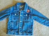 I have a childs size 4/5 Harley Davidson jean jacket,