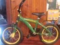 I have a John Deere child bike for sale in excellant