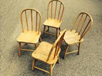 Four child's bentwood chairs - $25.00 ea. All four