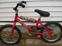 "CHILD'S BIKE $15.00 10"" RIMS 2 WHEEL BICYCLE NO"