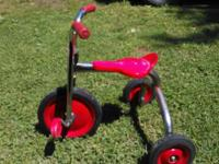 It's a custom made child's bike. Heavy duty will more