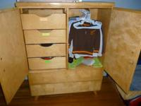 Child's dresser, excellent shape. 37 long 48 high, call