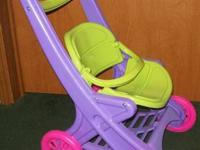 Offering your little girl this brightly colored sturdy