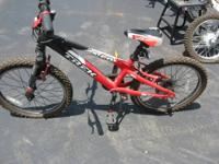 My son's MT 60 mountain bike purchased around 2003 or