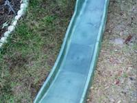 Green Cool Wave Slide Sturdy plastic construction Can