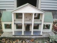 Chlid's One-of-a-Kind Wooden Playhouse/Dollhouse,