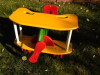 Pilots needed for wooden airplane riding toy for 1-4