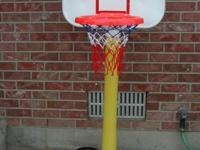 Child's Basket Ball Hoop w/ Stand Portable and easily