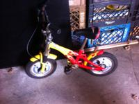 CHILD'S HARLEY DAVIDSON MOTORCYCLE BICYCLE. SEE PICS