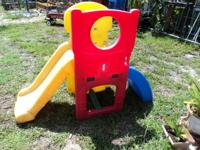 Step2 Slide Sturdy plastic construction Can support up