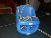 Little Tikes Child swing with rope- $5- call  Location: