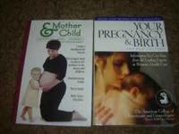 Up for sale are two child birth/parenting books that