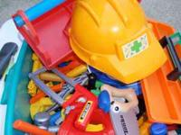 Play tools for your child --huge lot--plus 2 tool