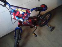 "MONGOOSE BOY'S 16"" BMX BIKE WITH PEGS, HEAVY FRAME,"