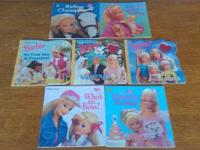 TEXT  ~ BARBIE PAPERBACK BOOKS (7 BOOKS) ~ LIST OF
