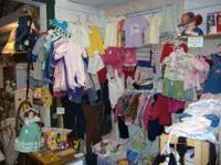 Children's Apparel from Birth to 6X/6T Come on in to